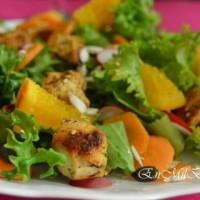 12 recetas de ensaladas con pollo