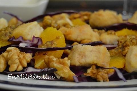 12 ensalada con pollo - En Mil Batallas