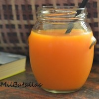 Licuado naranja