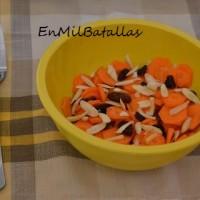 Ensalada agridulce de zanahoria