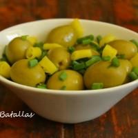 Aceitunas verdes picantes