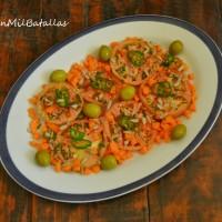 Ensalada de tomate y pipas