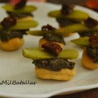 Bocaditos picantes de olivada