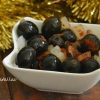 Aceitunas adobadas picantes