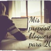 Mis propósitos blogueros para 2016