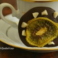 Chocolatinas de kiwi