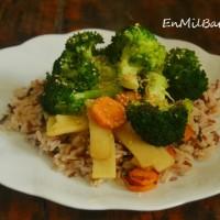 Salteado oriental con brócoli