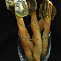 Piruletas de kiwi