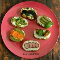 6 ideas de tostaditas con queso cremoso