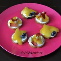 2 ideas de desayuno con nectarinas