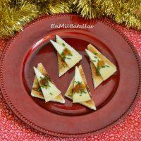 3 aperitivos con queso para Navidad