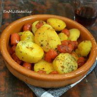 Patatas con chistorra