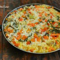 Arroz cremoso con verduras
