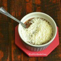 Crema de chocolate y coco
