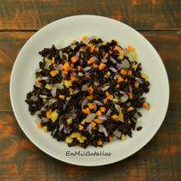 Ensalada de arroz salvaje sencilla